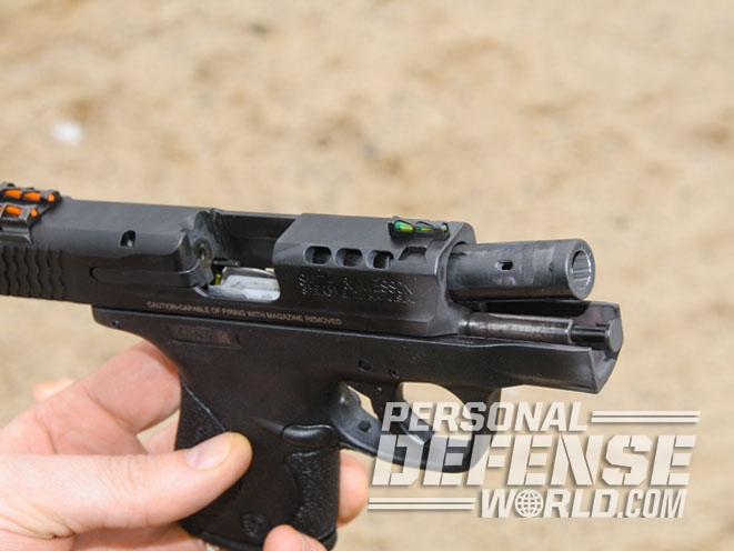 Gun review smith wesson 39 s performance center ported m for M p ported shield 9mm