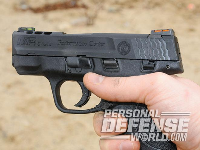 Smith & Wesson, Smith & Wesson performance center, s&w performance center, performance center, performance center ported m&p9 shield, m&p9 shield, m&p shield, smith & wesson m&p9 ported trigger