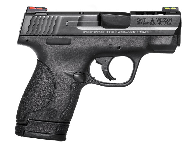 Smith & Wesson, Smith & Wesson performance center, s&w performance center, performance center, performance center ported m&p9 shield, m&p9 shield, m&p shield, smith & wesson pistol
