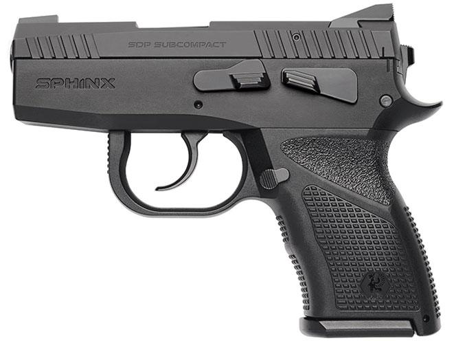 pistol, pistols, subcompact pistol, subcompact pistols, Sphinx SDP Subcompact Alpha