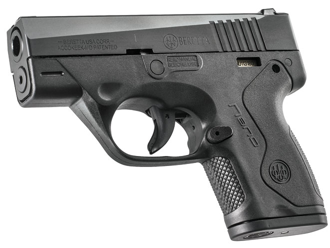 pistol, pistols, concealed carry, concealed carry pistol, concealed carry pistols, pocket pistol, pocket pistols, Beretta Nano