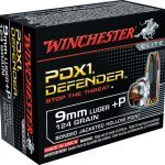 ammo, ammunition, 9mm round, 9mm rounds, self-defense, self defense, self defense ammo, self defense ammunition, winchester