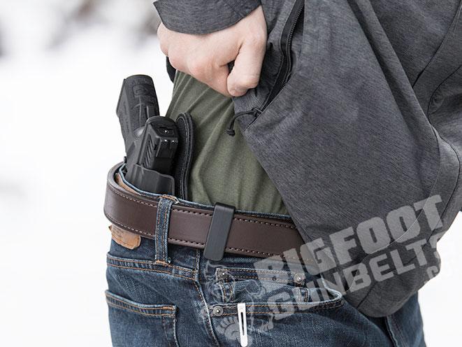 Bigfoot Gun Belts, Bigfoot Gun Belt, gun belt, gun belts