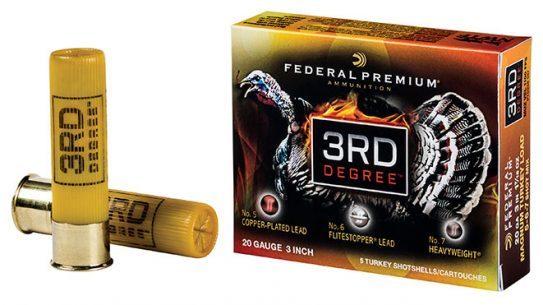 federal premium, federal premium 3rd degree, 3rd degree 20 gauge