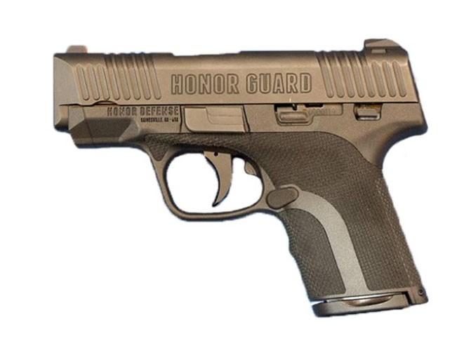 honor defense, honor defense honor guard, honor guard, honor guard pistol