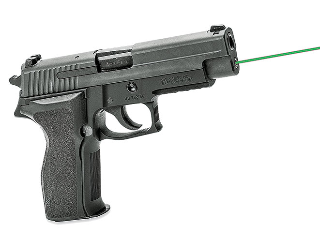 combat handguns, shooting, shooting products, gear, guns, LaserMax For Sig Sauer P226/P229