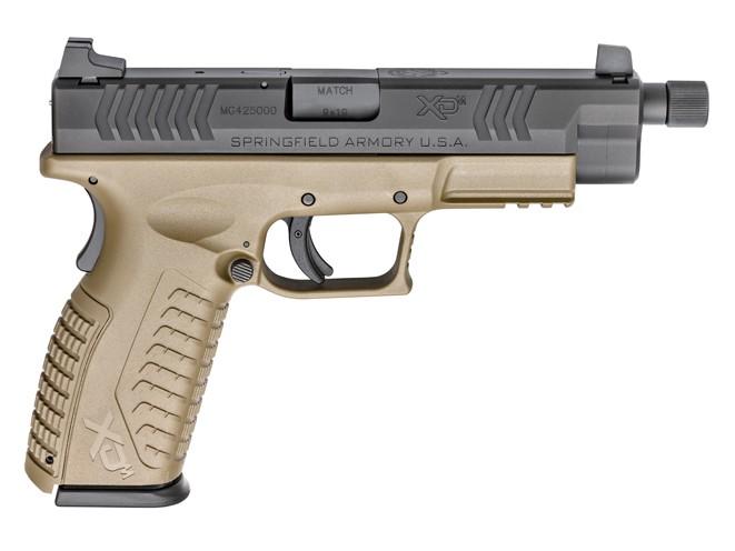 springfield, springfield armory, xdm 4.5-inch, xdm, springfield armory xdm, springfield xdm, xdm threaded barrel, xdm threaded barrel pistol