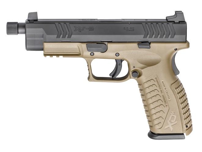 springfield, springfield armory, xdm 4.5-inch, xdm, springfield armory xdm, springfield xdm, xdm threaded barrel, xdm threaded barrel pistols
