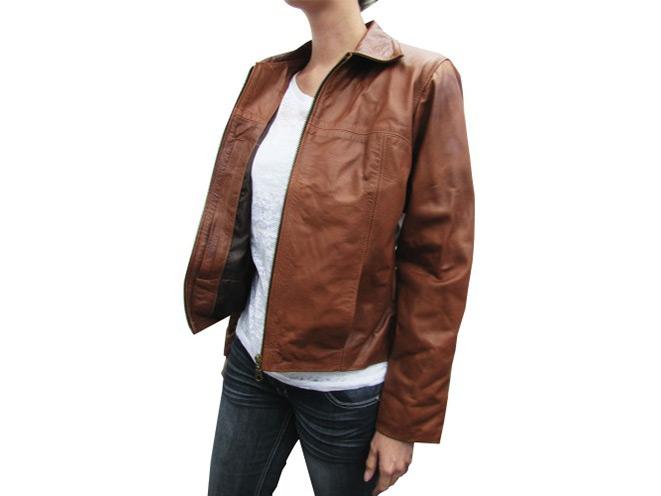 jacket, jackets, concealed carry jacket, concealed carry jackets, tagua gunleather, tagua gunleather Concealed Woman Leather Jacket, Concealed Woman Leather Jacket