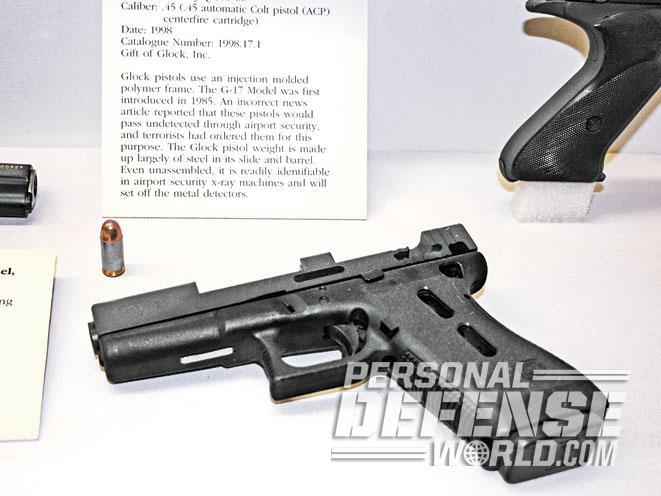 glock, glocks, glock pistol, glock pistols, glock 17, glock 17gen4, buffalo bill center of the west, cody firearms museum, glock 21