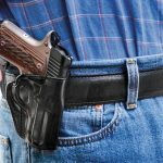 holster, holsters, concealed carry, concealed carry holster, concealed carry holsters, Galco Stinger with Kimber Micro