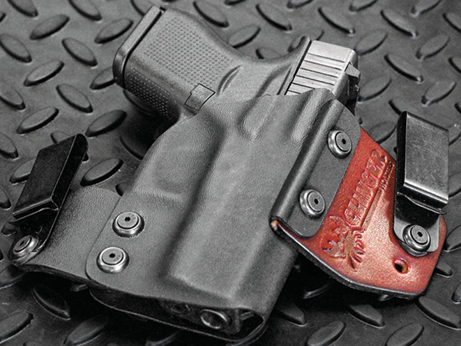 holster, holsters, concealed carry, concealed carry holster, concealed carry holsters, Clinger Holsters No-Print Wonder
