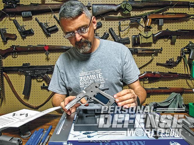 1911, 1911s, 1911 pistol, 1911 pistols, 1911 builders, 1911 builders instructions, 1911 frame, handgun