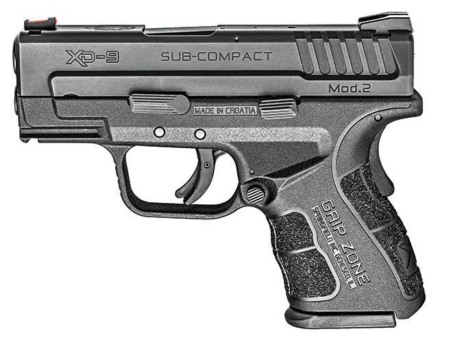 "pistol, pistols, subcompact pistol, subcompact pistols, SPRINGFIELD ARMORY XD MOD.2 3"""