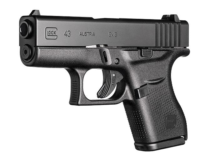 glock, glock pistol, glock pistols, glock concealed carry, concealed carry, glock 43