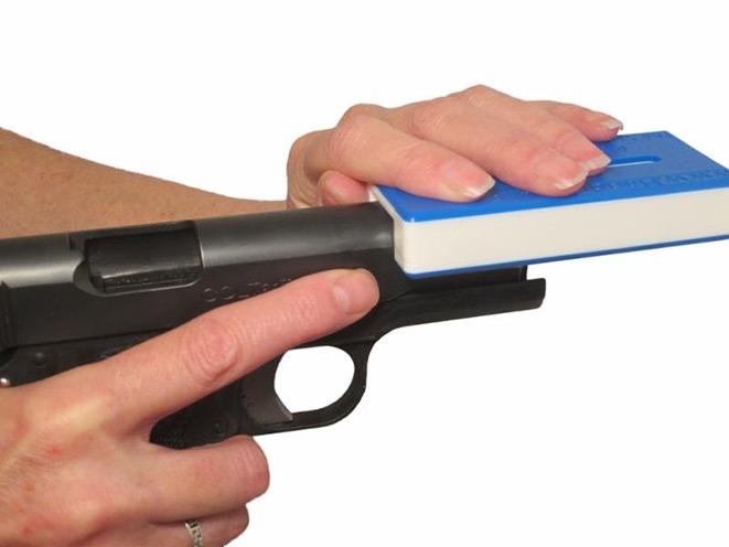 Handi-Racker, Handi-Racker gun slide, Handi-Racker pistol slide, Handi-Racker slide