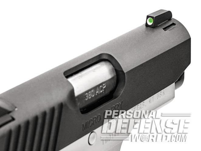 kimber, kimber micro carry, kimber micro carry advocate, micro carry advocate, micro carry advocate front sight
