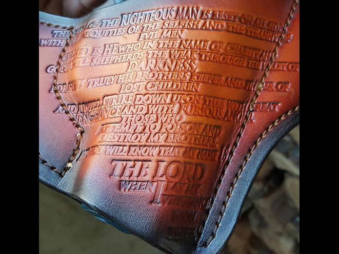 savoy leather, savoy leather path of the righteous holster, path of the righteous holster, holster, holsters