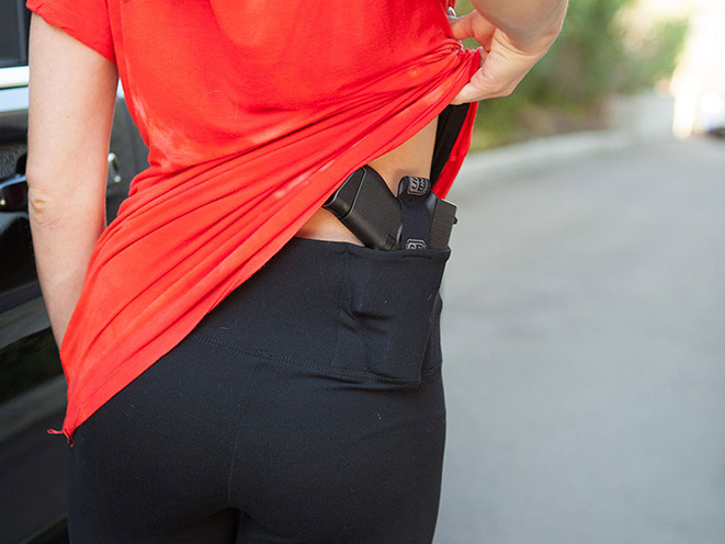 holster, holsters, concealed carry, concealed carry holster, concealed carry holsters, UnderTech UnderCover Concealment Leggings