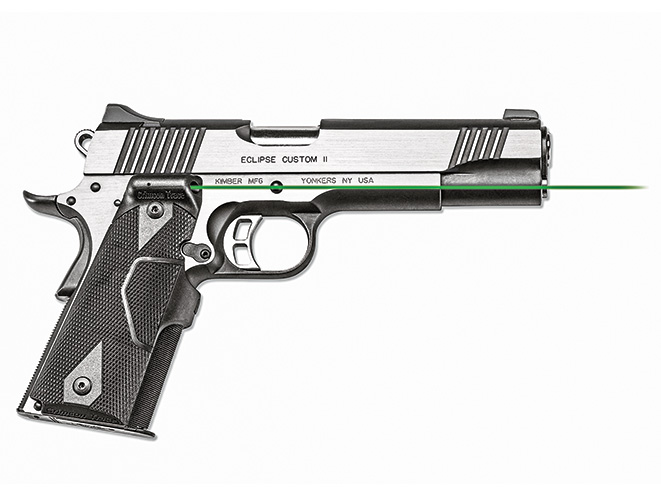 1911, 1911 pistol, grip, grips, gun grip, gun grips, aftermarket grip, aftermarket grip panels, grip panel, grip panels, Crimson Trace LG-401G Lasergrips