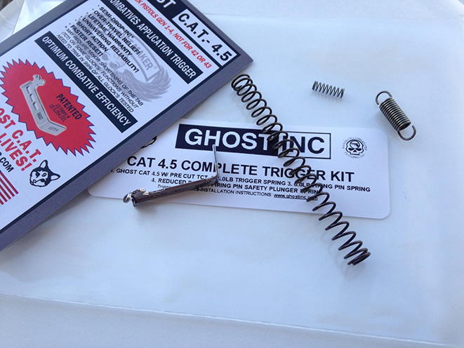 ghost inc, combative trigger kit, ghost inc cat trigger, cat trigger