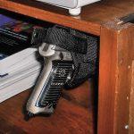 gun, gun safe, gun safes, safe, safes, gun vault, gun holster, Gun Storage, Grassburr Medium C-Burr Top Mount