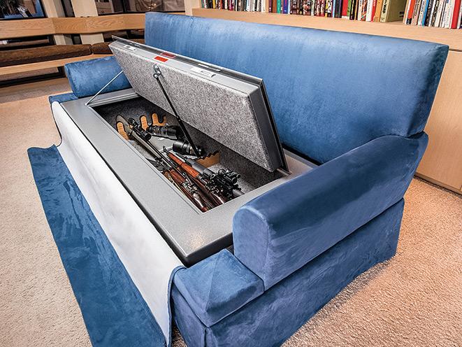 gun, gun safe, gun safes, safe, safes, gun vault, gun holster, Gun Storage, Heracles Research CouchBunker