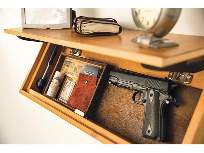 gun, gun safe, gun safes, safe, safes, gun vault, gun holster, Gun Storage, LedgeLocker Mechanical Shelf