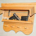 gun, gun safe, gun safes, safe, safes, gun vault, gun holster, Gun Storage, New Jersey Concealment Furniture Classic Coat Rack