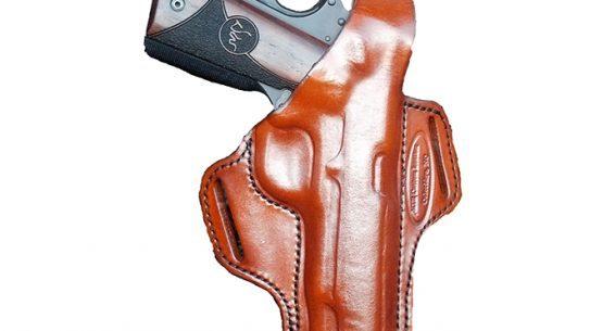 mtr, mtr custom leather, slim-line deluxe, pancake belt slide holster, belt slide holster