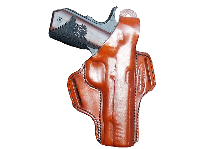 mtr, mtr custom leather, slim-line deluxe, pancake belt slide holster, belt slide holster