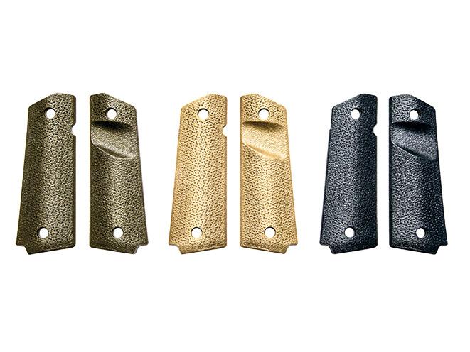 1911, 1911 pistol, grip, grips, gun grip, gun grips, aftermarket grip, aftermarket grip panels, grip panel, grip panels, Magpul 1911 MOE Grip Panels