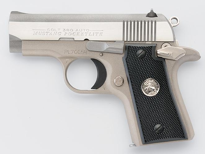 handgun, handguns, compact handgun, compact handguns, pistol, pistols, Colt .380 Mustang