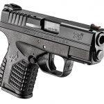 handgun, handguns, compact handgun, compact handguns, pistol, pistols, Springfield Armory XD-S 9mm