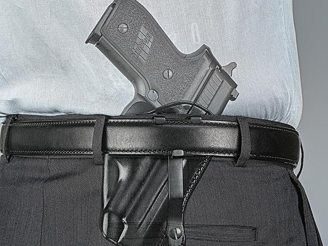 holster, holsters, full-size pistol, full-size handgun, handgun, handguns, pistol, pistols, galco skyops