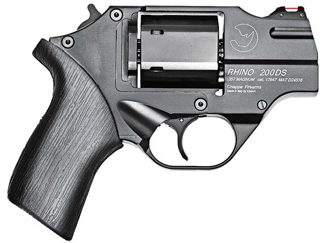 revolver, revolvers, snub-nose revolver, snub-nose revolvers, Chiappa Rhino 200DS