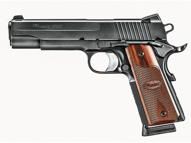 1911, 1911 pistol, grip, grips, gun grip, gun grips, aftermarket grip, aftermarket grip panels, grip panel, grip panels, Sig Sauer 1911 Rosewood Grips