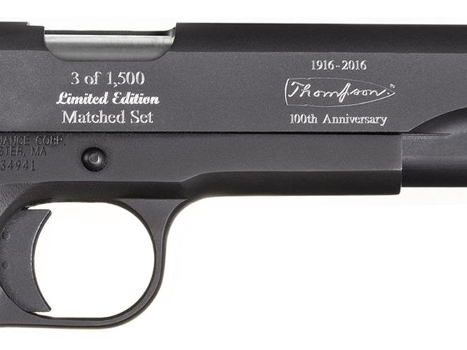Thompson 1927A-1, Thompson 1927A-1 100th anniversary, 1911a1 100th anniversary, auto ordnance thompson 1927-a1