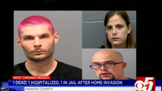 home invasion, home invasion suspect, John Grossklaus, larry shaver