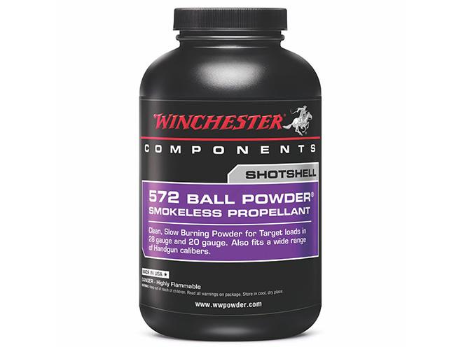 Winchester 572, winchester, Winchester Smokeless Propellants