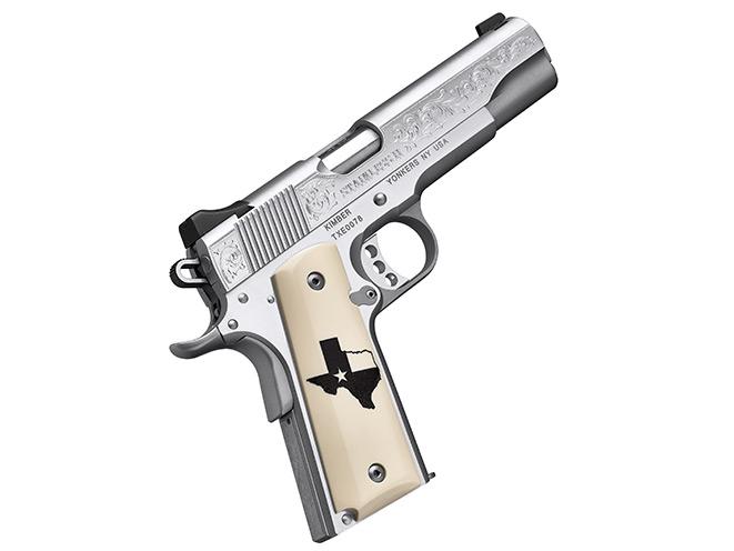 kimber, kimber stainless ii, stainless ii, stainless ii texas edition, stainless ii texas pistol