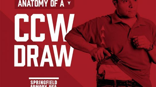 springfield, springfield armory, springfield anatomy of a ccw draw, anatomy of a ccw draw, springfield anatomy of a concealed carry draw