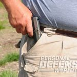 holster, holsters, concealed carry, concealed carry holster, concealed carry holsters, Galco UnderWraps Belly Band, concealed