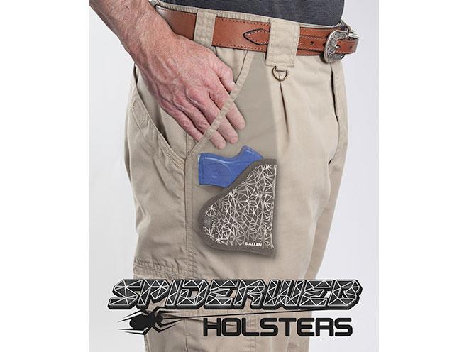 allen company, spiderweb holster, spiderweb holsters, allen company spiderweb holster, allen company spiderweb holsters