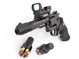 air pistol, air pistols, airgun, umarex smith & wesson, Umarex Smith & Wesson 327 TRR8