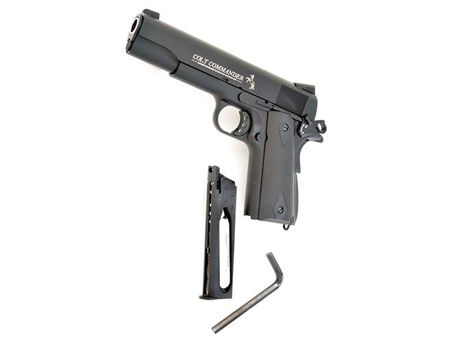 air pistol, air pistols, airgun, umarex smith & wesson, Umarex Smith & Wesson 327 TRR8, ASG Dan Wesson Model 715, Tanfoglio Gold Custom 1911, Umarex Colt Commander