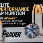 ammo, ammunition, home defense ammo, home defense ammo, sig sauer