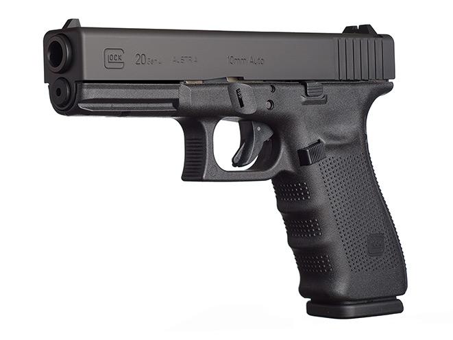 glock, glock pistols, glock pistol, glock 10mm, 10mm, glock 20 sf, glock 29 sf pistol, glock 40 gen4 mos pistol, glock 20 gen4 pistol