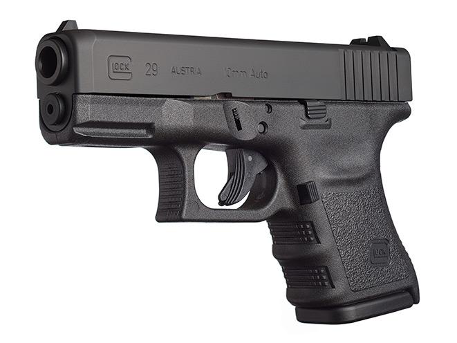 glock, glock pistols, glock pistol, glock 10mm, 10mm, glock 20 sf, glock 29 sf handgun