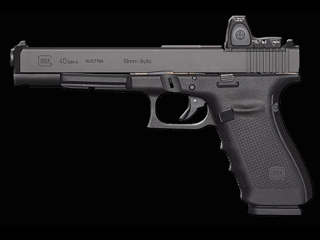glock, glock pistols, glock pistol, glock 10mm, 10mm, glock 20 sf, glock 29 sf pistol, glock 40 gen4 mos pistol